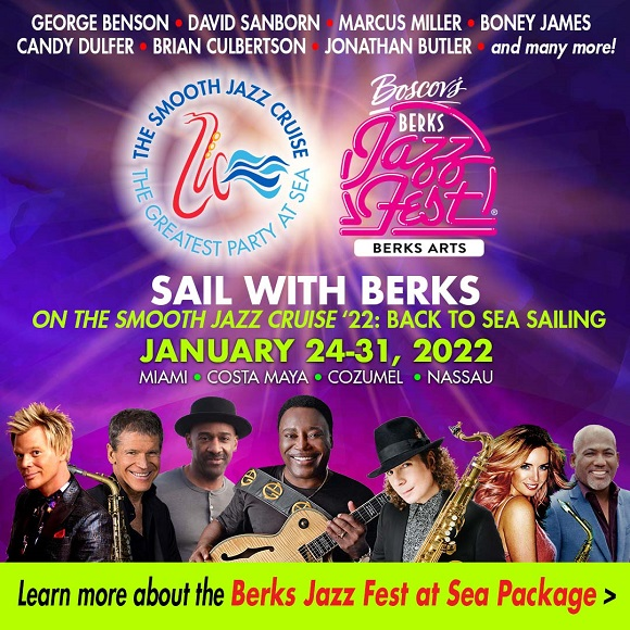Special 30th Anniversary Cruise Giveaway: Buy Berks Jazz Fest Ticket; Win Stateroom!!