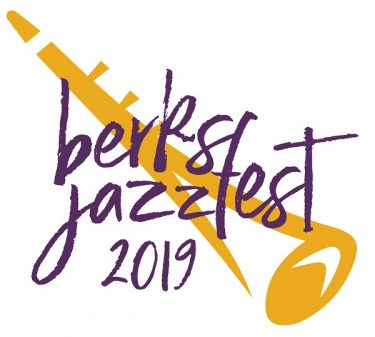 Sandy Riley designs logo for Berks Jazz Fest 2019 merchandise