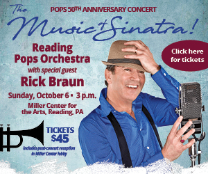 The Music of Sinatra: Reading Pops Orchestra with special guest Rick Braun. Click for tickets.