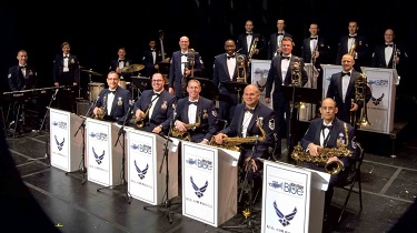 Tickets Available for U.S. Air Force Rhythm in Blue Jazz Ensemble Concerts